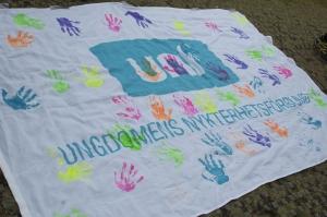 Kongressnytt besökte UNF-lägret under Lördagen.