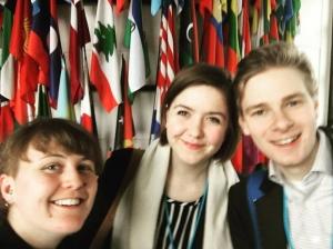 UNF på plats i FN