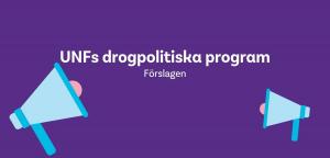Förslag till UNFs drogpolitiska program