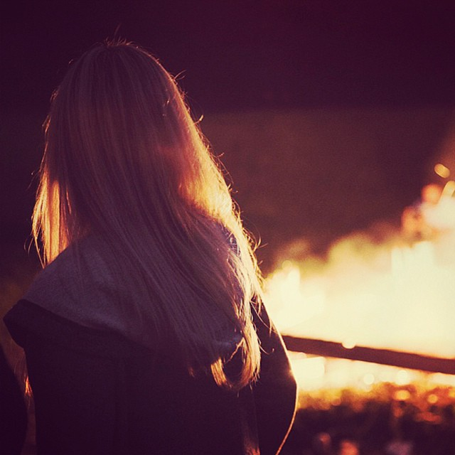 instabild – Årets elds