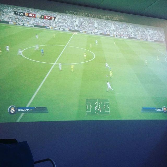 instabild – Fifa pågår